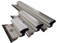 Шпатель механический 400х0,3мм, съемное лезвие, алюминиевая ручка, OLEJNIK PROFESSIONAL (1239400G3)